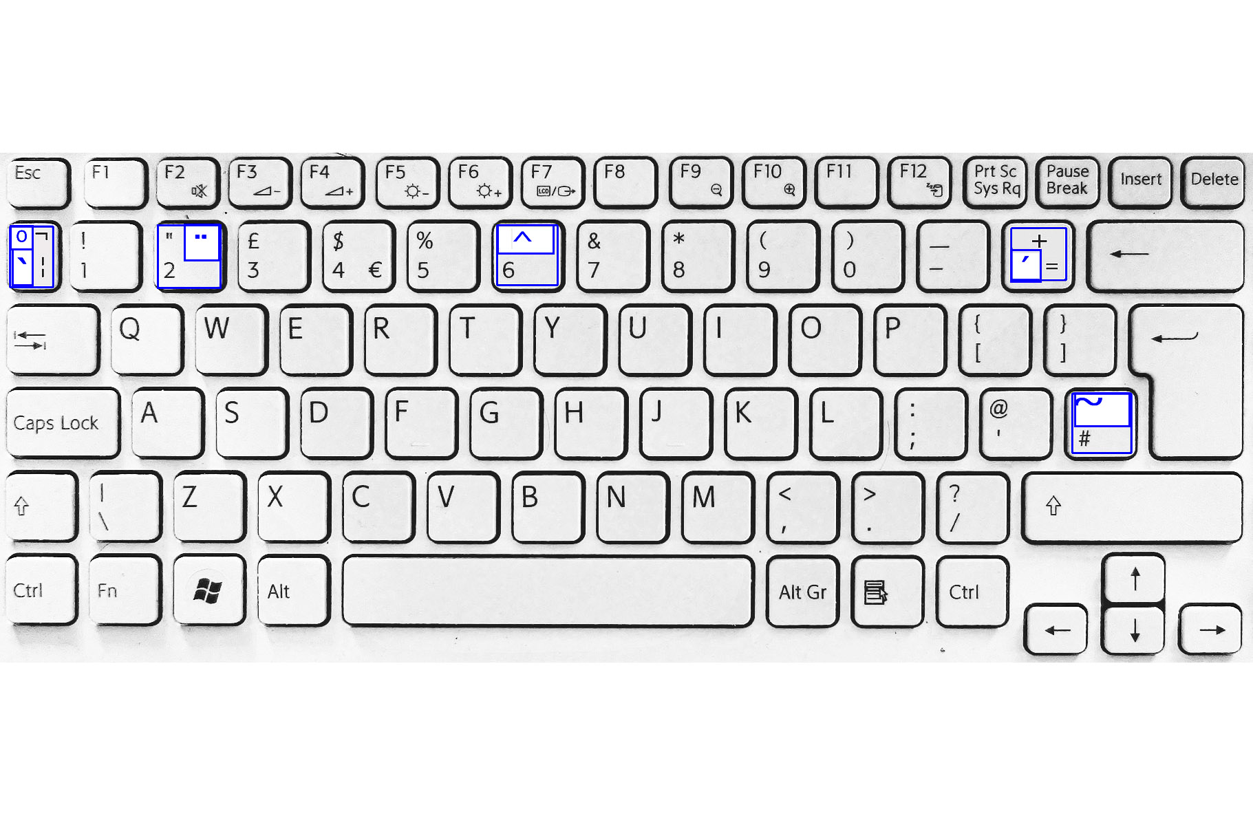Taggs 2010 Multilingual Keyboard