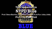 NYPD Blue Badge